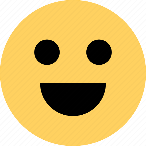 avatar, emoji, emotion, faces, happy, smile icon