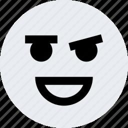 avatar, emoji, emotion, face, hey icon