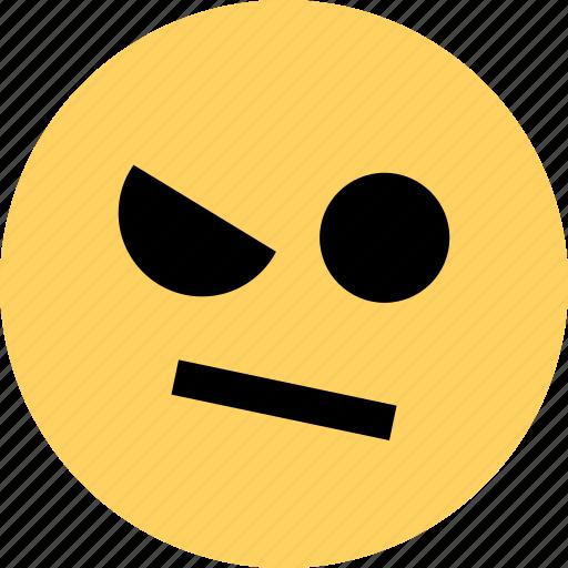 avatar, dude, emoji, emotion, face, hmm icon
