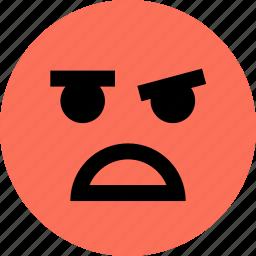 avatar, emoji, emotion, face, huh, ok icon