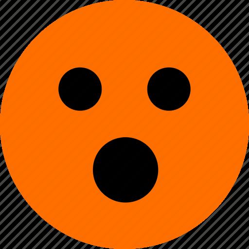 emoji, feeling, oh icon