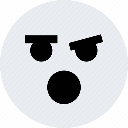 avatar, emoji, emotion, face, ohhh, sure icon