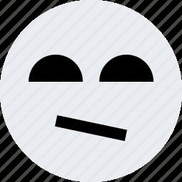 avatar, emoji, emotion, face, sad, thought icon