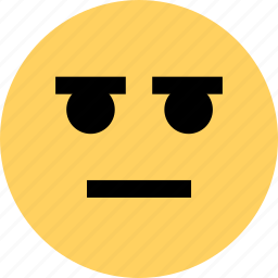 avatar, emoji, emotion, face, faces, serious icon