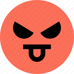 avatar, bully, emoji, emotion, face, tongue icon