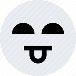 avatar, clown, emoji, emotion, face, tongue icon