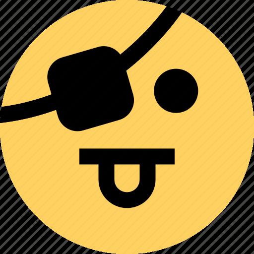 avatar, emoji, emotion, faces, tongue icon