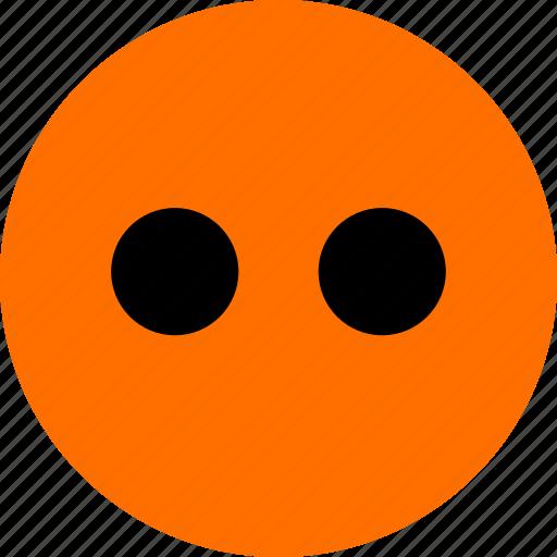 emoji, eyes, faces, two icon