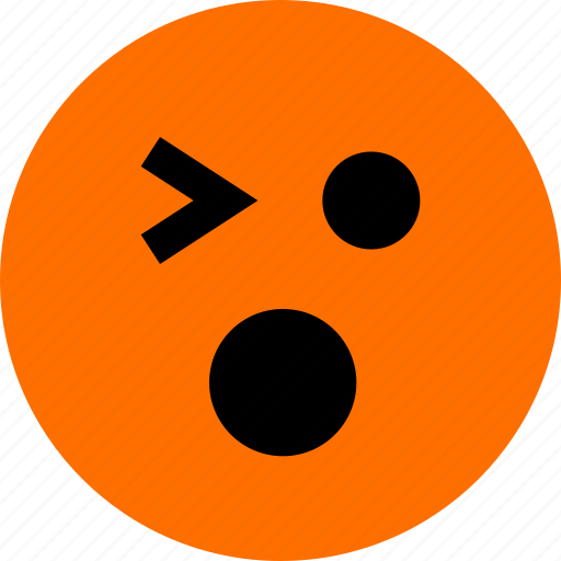 feeling, ok, wink icon