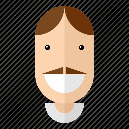 avatar, faces, father, grandpa, male, profile, uncle icon
