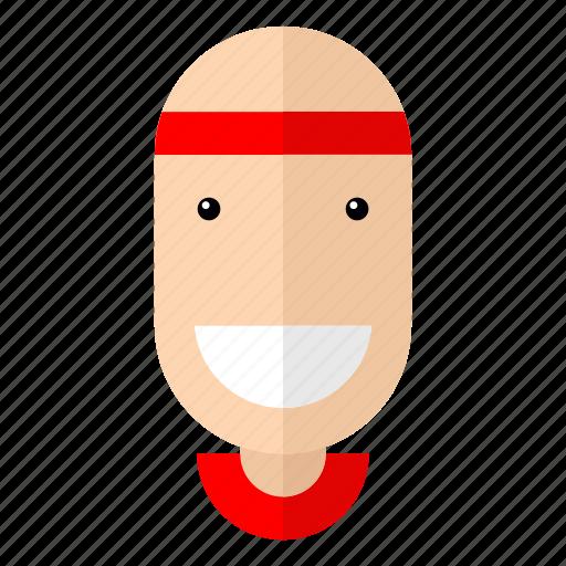athlete, avatar, faces, healthy, male, profile, sport icon
