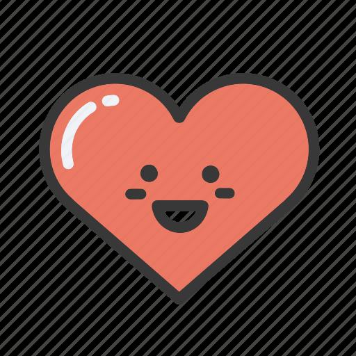 emoji, emojis, emoticon, heart, hearts, love, valentines icon