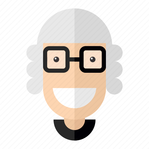 avatar, faces, old, professions, profile, teacher, woman icon