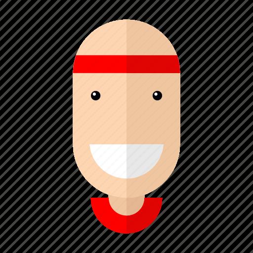 athlete, avatar, boy, faces, professions, profile, sport icon