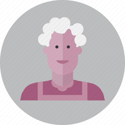 avatar, emoji, face, family, people, smile, woman icon