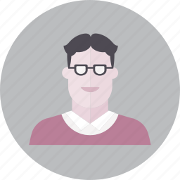 avatar, education, emoji, face, people, smile icon