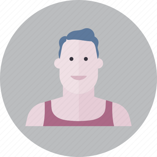avatar, emoji, face, fashion, man, people, smile icon