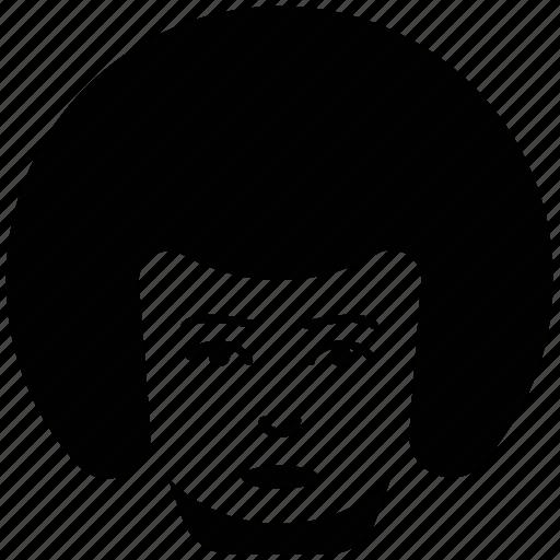 female, lady, madam, woman, woman face icon