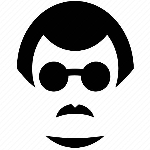 avatar, male, man, man with glasses, person, user icon