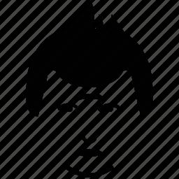 boy, boy face, face, guy, man, spiky hair icon