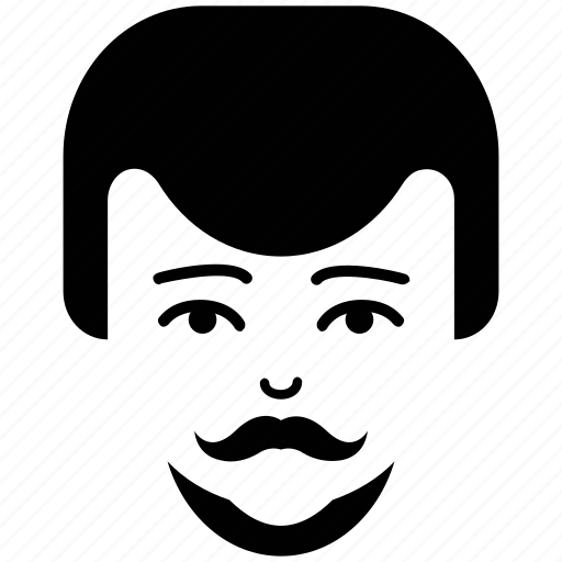 client, face, head, man, man face, man with moustache, moustache icon
