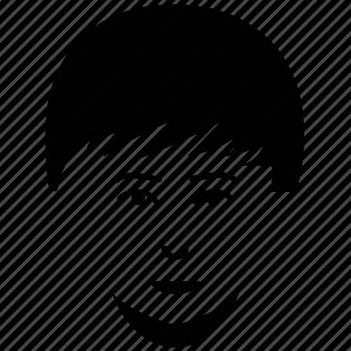 avatar, boy, boy face, boy hair style, fashionable boy, french fork beard icon
