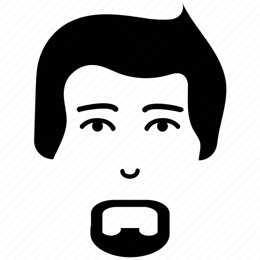 Avatar, french beard, gentleman, man face, profile, user icon - Download on Iconfinder