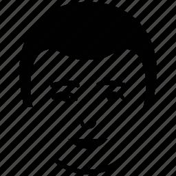 beard on face, boy, male, male user, man, short beard, user icon