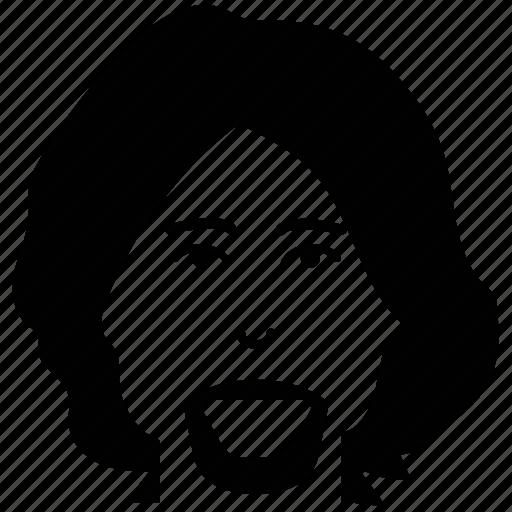 avatar, beard, man, person, profile, user icon