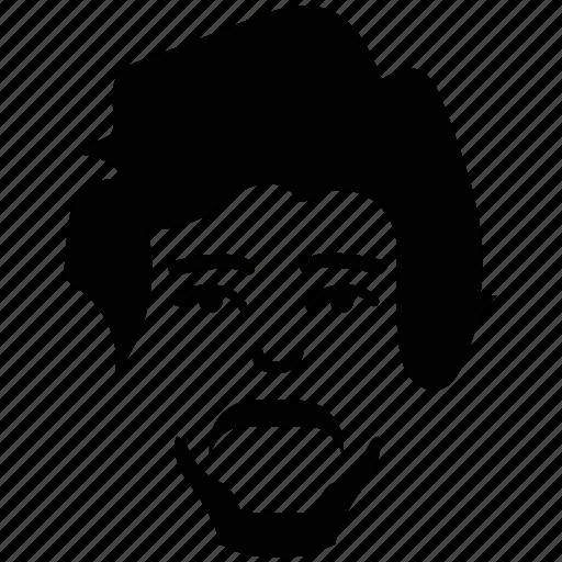 avatar, boy beard, face, profile, teenage, user icon