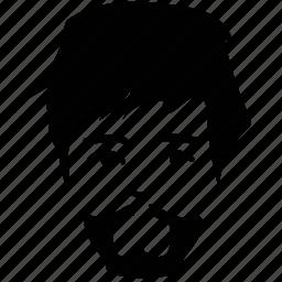 boy, boy beard, boy face, face, man, man face, profile icon