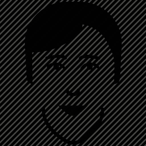 boy, boy face, male, man, profile, student, teenage, user icon