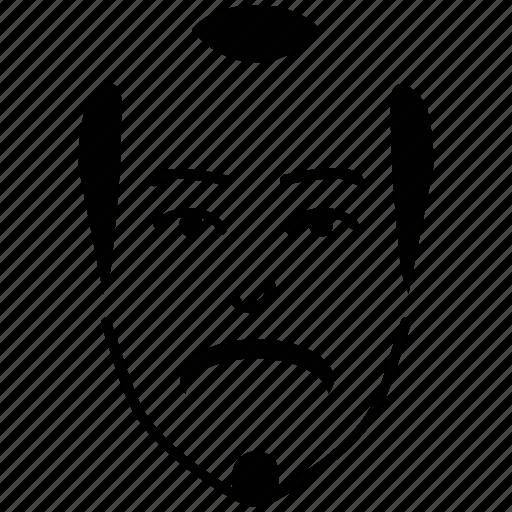 avatar, bald, bald man, beard, hipster, man, profile icon