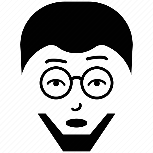 avatar, french beard, profile, user, worker icon