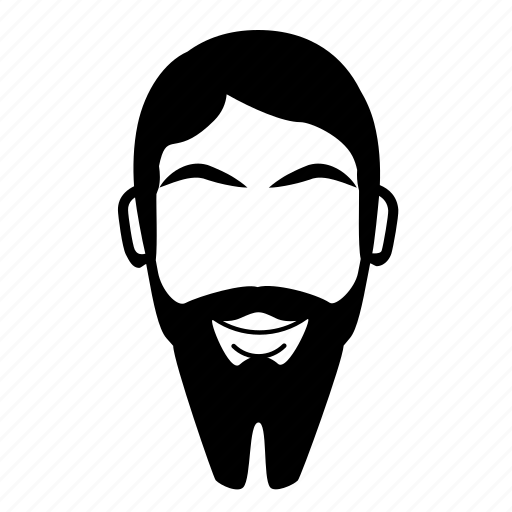 beard, facial hair, frenchfork, shave icon