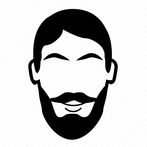 beard, burly, facial hair, lumberjack icon
