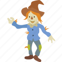 character, oz, scarecrow, story, strawman, tale, wizard icon