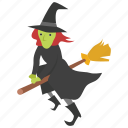 broomstick, evil, flying, halloween, oz, wicked, witch
