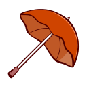 umbrella, autumn, cloud, fall, protection, rain, weather