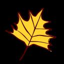 autumn, fall, leaf, leaves, nature, season, yellow icon
