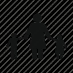 boy, child, children, girl, male, people, woman icon