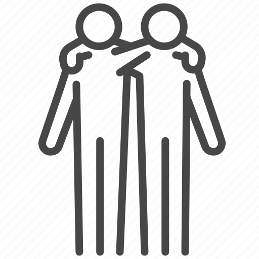 Brother, buddy, duo, family, friend, people icon - Download on Iconfinder