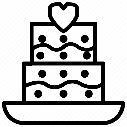 Family, happy, home, love, parent, people, wedding cake icon - Download on Iconfinder