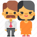 family, live, love, marriage, pair, parents, people icon