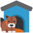 animal, booth, dog, family, live, people, pet icon