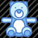 animal, bear, children, fluffy, teddy icon