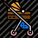 baby, buggy, kid, pushchair, stroller