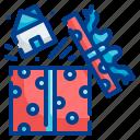 gift, box, present, surprise, celebration