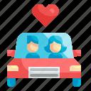 car, carpool, automobile, vehicle, people