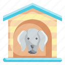 dog, house, pets, animals, kennel